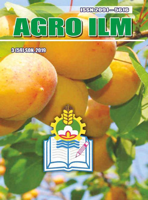 «Agro ilm» 2019 йил 3-ИЛОВА (59)