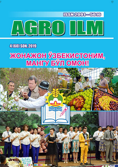 «Agro ilm» 2019 йил 4-ИЛОВА (60)